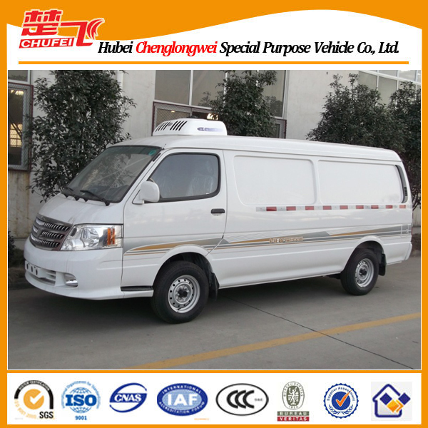 Foton View 4*2 gasoline engine refrigerator cooling van for sale