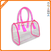 plastic shopping bag, pvc shopping bag,cosmetic pouch