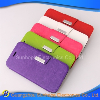 2015 New Arrival High Quality Fashion magnet leather Mobile Phone Case for iphone 6
