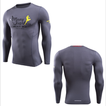 China alibaba compression men T shirt / sports wear / running fitness with reflective printing logo