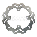 Motorcycle front solid brake disc rotor for Suzuki