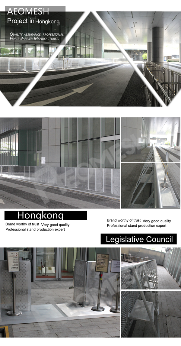 Project in Hongkong Barrier
