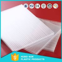 3113 bayer polycarbonate clear solid sheet hollow sheet for the bus station roll transparent plastic roof