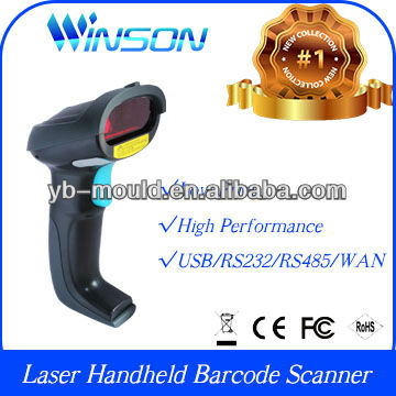 Customized WNL-3000 S01 1D Laser Handheld QR code Barcode Reader Scanner Data Collector WAN+Auto Trigger Scan(Customized)