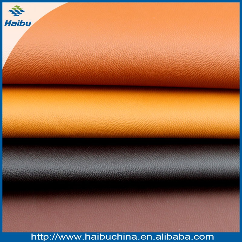 good price sponge pvc leather for car seat supplier China synthetic leather industry