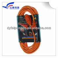 FP-670 8m 110V flat electrical power round extension cord