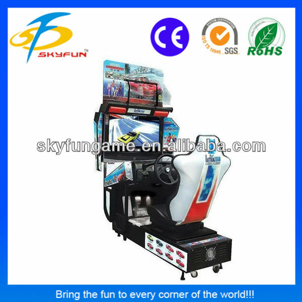 42 inch Crazy indoor racing outrun 2013 racing simulator arcade video <strong>games</strong>