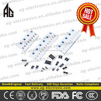 Passive Components 0.5Watt 150 ohm Resistance 150 ohm Metal Film Resistor 0.5 W Electronic Components China