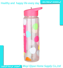 2016 products bulk promotional gift plastic water bottles bpa sport drinking bottle