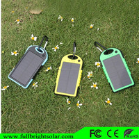 New 5000mAh Mobile Solar Power Bank Outdoor Travel Charger for Camp