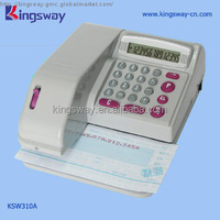 Check Writing Machine KSW310.