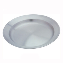 Wholesale dishes camping plate stainless steel dish in good grade