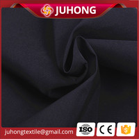 Black Bengaline fabric Nylon spandex trousers fabric manufacturer