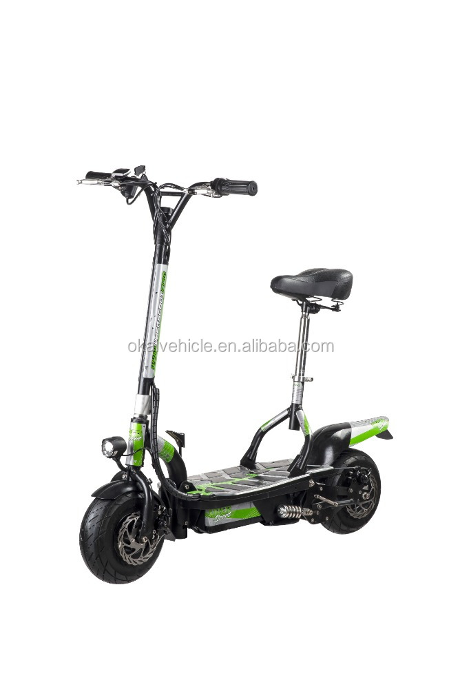48V 1600W 12 inch big wheel electric scooter for adult