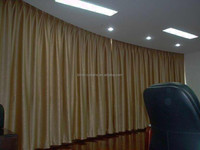 black out curtain/luxury hotel curtains/window covering ideas