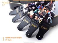 Guitar accessories Nylon guitar straps with pictures of Michael Jackson ,The Beatles (PE-A24)