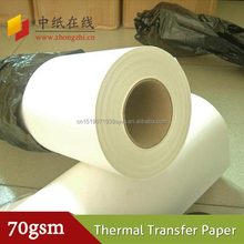 60g 70g 90g 100g digital printing paper for textile fabric
