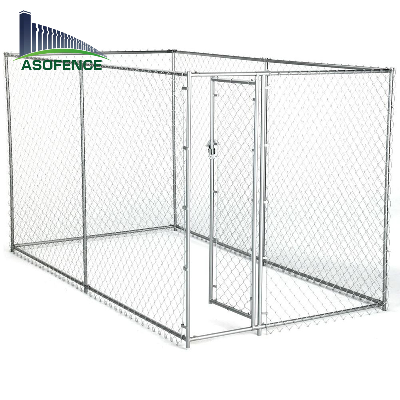Heavy duty 10x10x6 galvanized large dog house