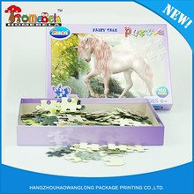 Factory sale various large piece jigsaw puzzles for kids