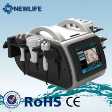 NL-LSR900 Multifunction cavitation machine with five treatment heads: Ultrasound+Vacuum +Tripolar RF+Lipolaser