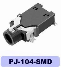 female magic phone jack PJ-104-SMD