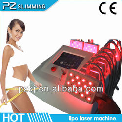 CE approved 2016 world best selling products diode lipo laser / laser weight loss PZ809A(Hot in USA)