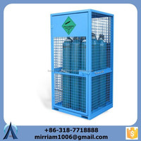 Direct factory selling gas bottle lifting cage, calor gas storage cage, lpg gas bottle cages