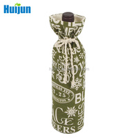 China excellent manufacturer supply wine bottle cotton gift bag