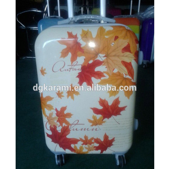 Factory making Suitcase, PC/ABS Trolley Travel Luggage Cases