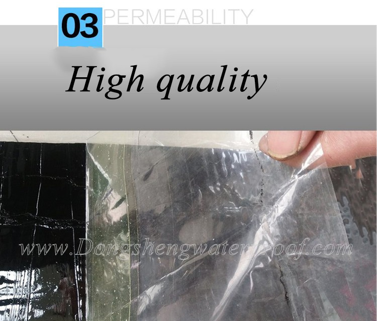 China self-adhesive bitumen membrane of cold applied