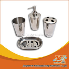 Cheap Price 4pcs Stainless Steel Bathroom Sets House Accessories
