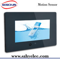 7 inch battery powered lcd promotional display/vertical lcd panel stand advertising display