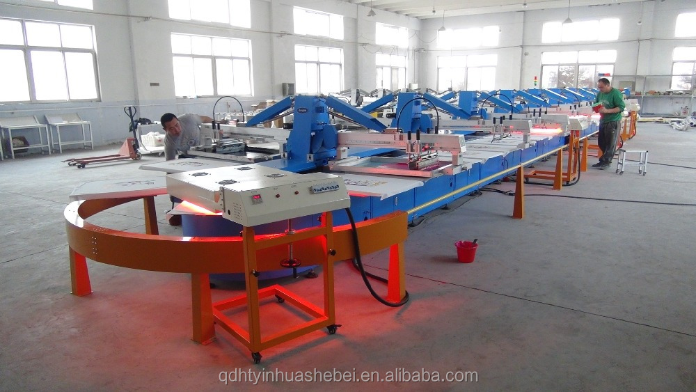 Cheap On Hot Sales Newly Rotary Carousel Oval Label/Tshirt Silk Screen Printing Machine For All Life Warranty