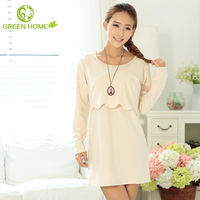 2015 new design popular cotton meterial maternity casual dress