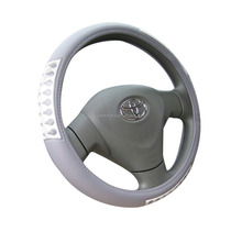 Best sellinng cheap car steering wheel cover,pvc material with reflectors,fast moving cheap car steering wheel cover