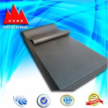 OEM high pressure NR,NBR Rubber flooring sheets made in China