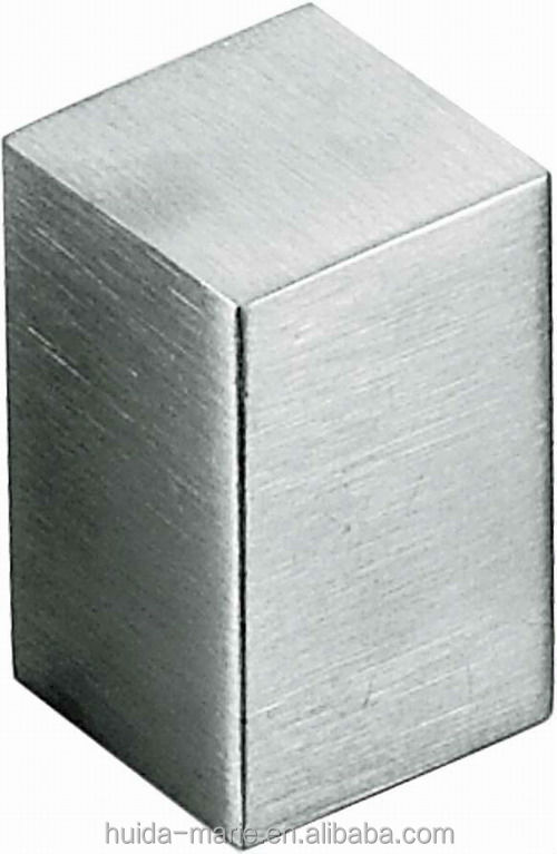 furniture handles Stainless steel 304/201 furniture cabinet knob handle square design