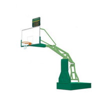 Remote control folding hydraulic basketball stand for University Gymnasium