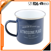 Good quality in China manufacturer factory sale oem printed enamel mug