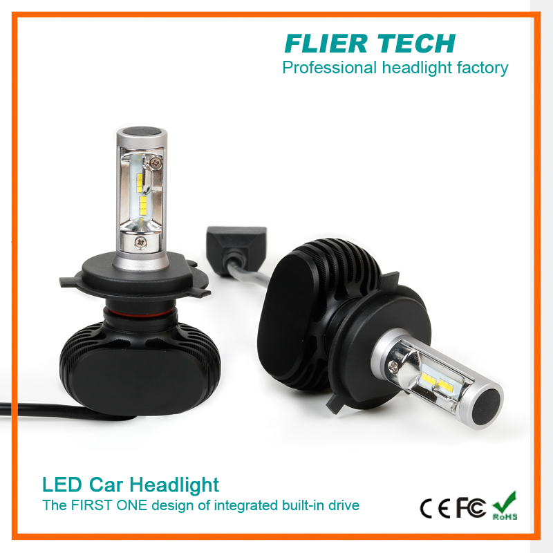 Newest CSP headlight car with high power without fan