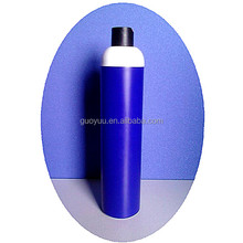 HDPE 1000ml Oval Plastic Shampoo Bottle With Pearlised Surface