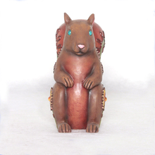 New Products Animal Squirrel Resin Ornaments Polyresin Figures