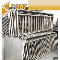 Stainless steel fence railing