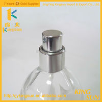Best selling clear glass perfum bottles for ladies