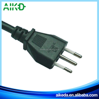 Hot sale good material made in ningbo italy ac power cord plug
