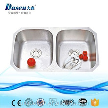 Import knee operated hand washing stainless steel kitchen sink
