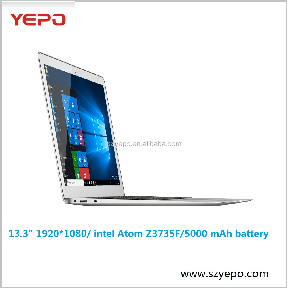 Shenzhen YEPO Cloudbook <strong>13</strong>.3 inch Laptop Computer Notebook PC Factory Cherrytrail Z8350 4GB 128GB