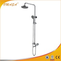 Surface mounted shower faucet tapware set