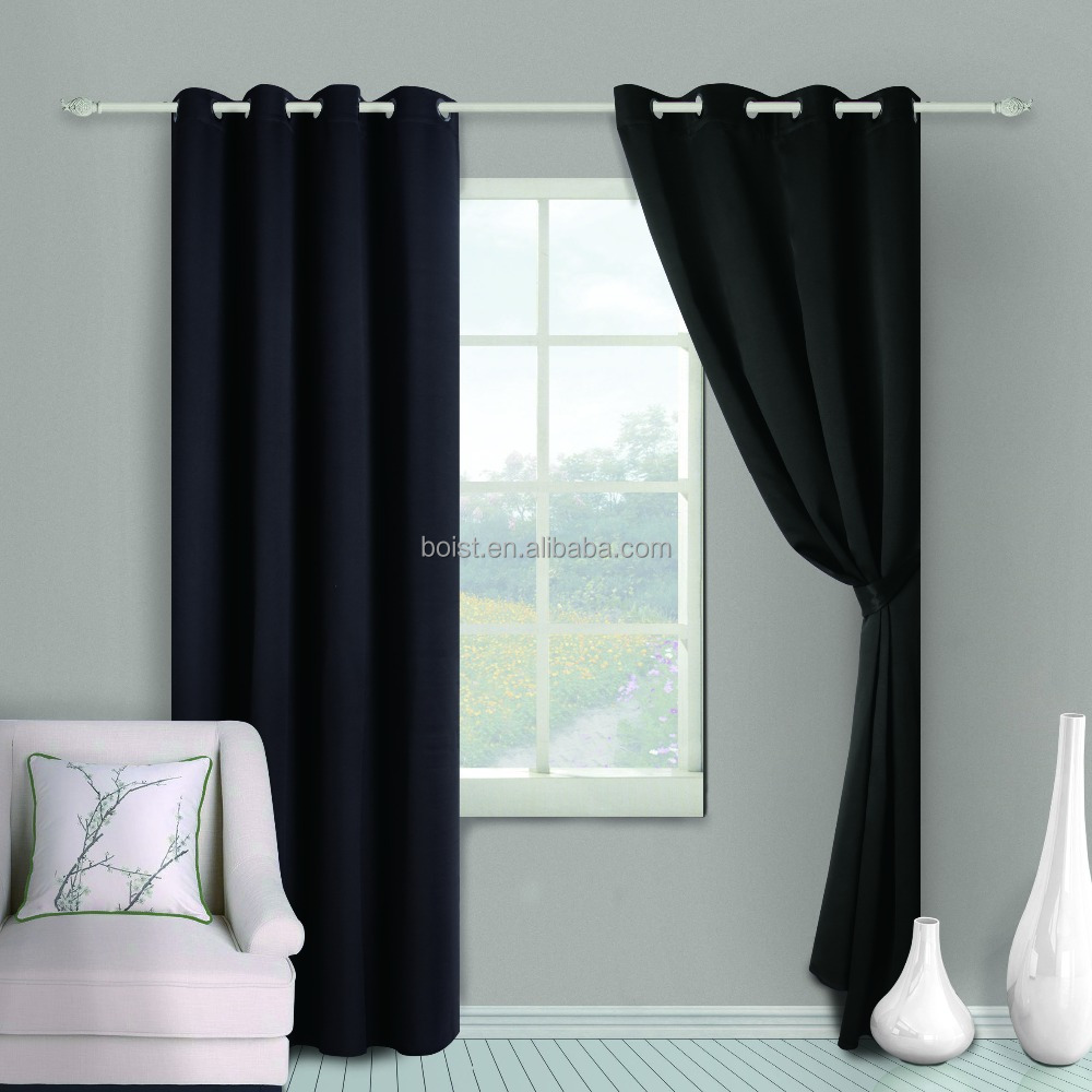 latest metal curtain/curtain eyelets/sheer curtain fabric