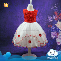 SD-1110G kids branded clothing wholesale girls dress names with pictures flower girl dresses